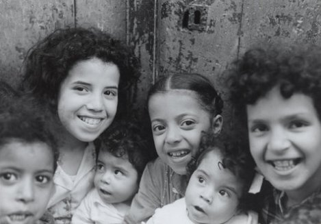 Jewish children in Algeria in 1962